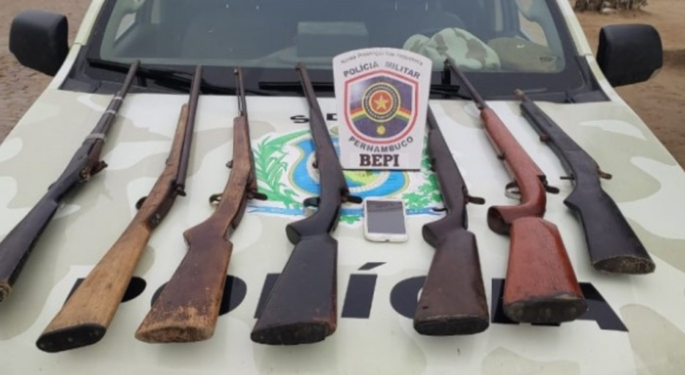 Suspeito foi levado para a Delegacia de Ibirajuba
