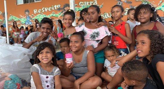 Creche de Olinda recebe doações do Projeto Infância Cidadã