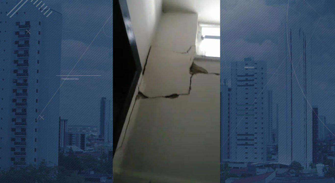 Diversos problemas podem ser vistos na estrutura da escola técnica estadual Ministro Fernando Lyra