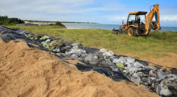 Óleo recolhido da Praia dos Carneiros, em Tamandaré