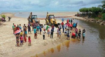 O prefeito de São José da Coroa Grande afirmou ser ''o maior desastre ambiental do Brasil''