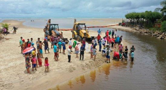 Confira vídeos e fotos das manchas de óleo nas praias de Pernambuco