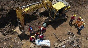 As equipes de trabalho estão há 268 dias na missão de resgate dos corpos