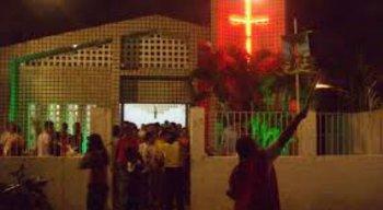 A capela de São Sebastião foi furtada na madrugada deste sábado (19)