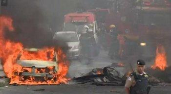 Avião caiu em bairro de Belo Horizonte