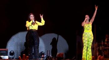 As cantoras caíram na risada com Adeildo B batendo o cabelo, e deram vários conselhos pra quem já levou gaia