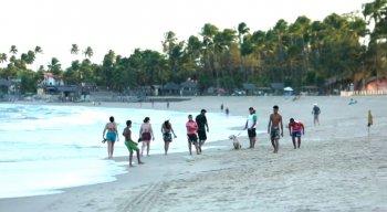 Segundo a prefeitura de Ipojuca, a situação nas praias da região está normalizada