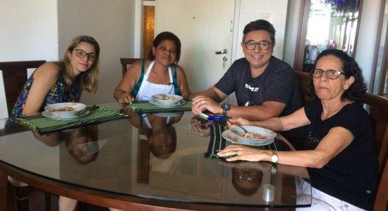 Chef Wellington prepara Risoto Veronese em Olinda