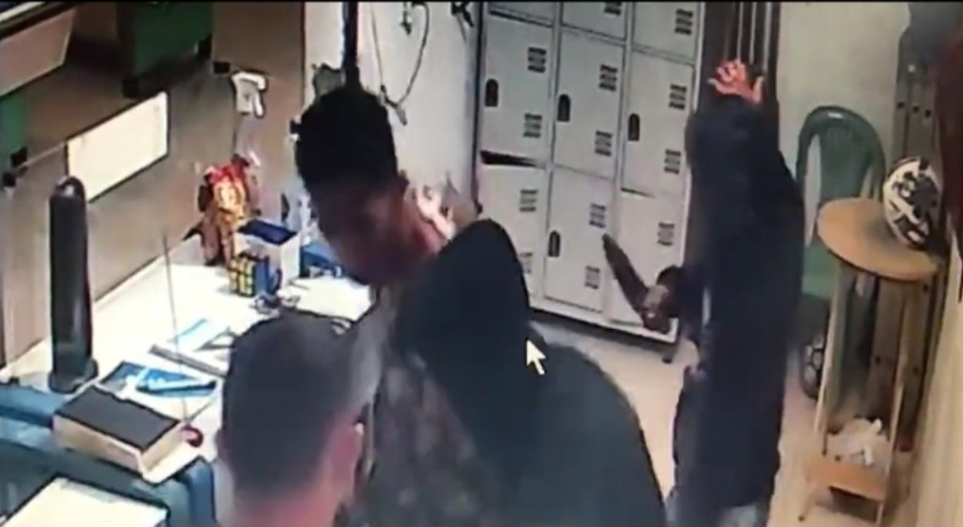 Vídeo mostra assalto em São Caetano