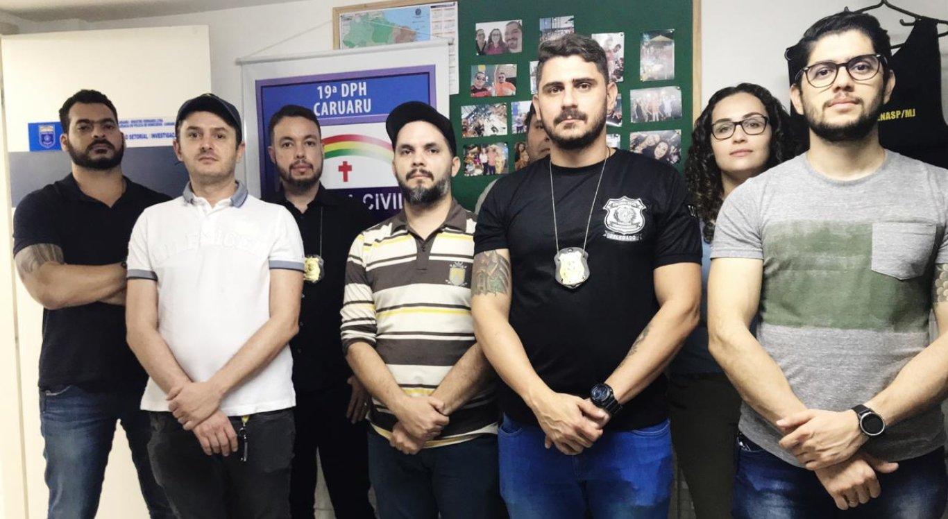 Polícia Civil faz operação em Caruaru