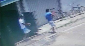 As imagens do crime já estão com a polícia para investigação