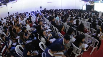 Quase 3 mil estudantes participaram do aulão