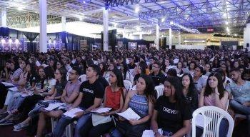 Durante o evento, os alunos aprenderam diversos conteúdos do Enem e vestibulares junto aos professores mais conceituados de Caruaru