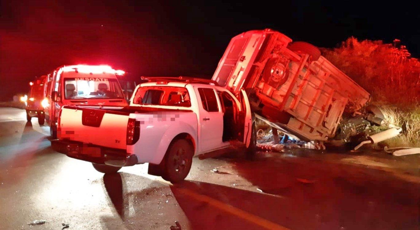 Acidente ocorreu na BR-232 em São Caetano