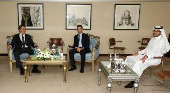 Bolsonaro em visita ao Oriente Médio