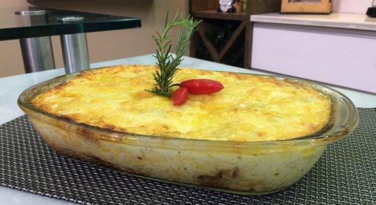 Que tal preparar Batata Gratinada com Calabresa?