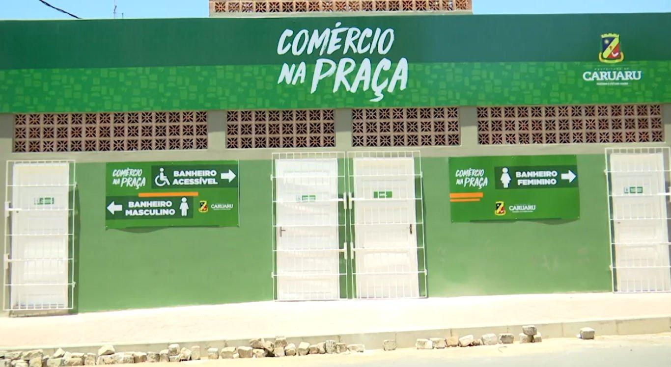 Comércio na Praça tem o objetivo de requalificar o centro de Caruaru