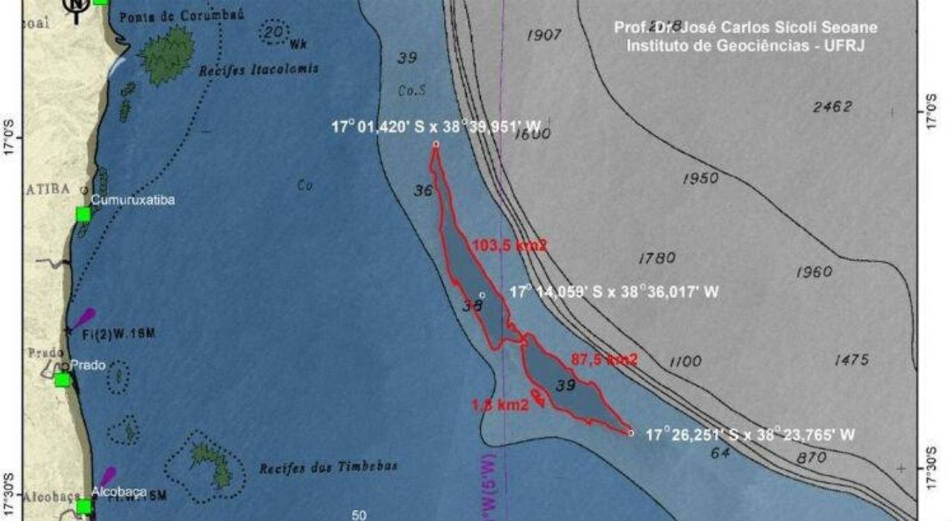 Mancha tem mais de 200km² e ameaça costa baiana