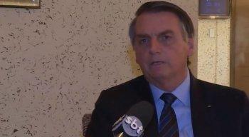 Jair Bolsonaro concedeu entrevista exclusiva ao SBT