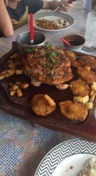Prato do restaurante Terraço