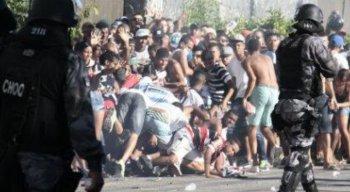 Torcedores violentos podem ser punição de cinco anos com afastamento dos locais dos eventos esportivos
