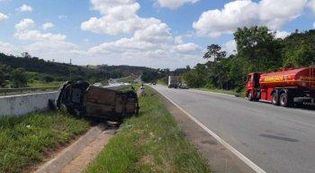 Até o momento não se sabe o estado de saúde dos três envolvidos no acidente