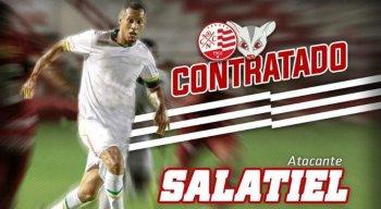 Salatiel foi o artilheiro da Série C com oito gols em 23 jogos.