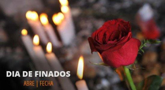 Confira o que abre e o que fecha em Pernambuco no feriado de Finados (2 de novembro)