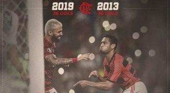 Gabriel está em sua primeira temporada pelo Flamengo