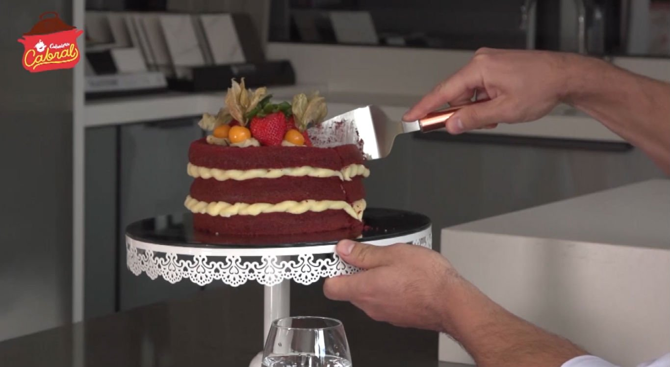 Veja como fazer o bolo red velvet