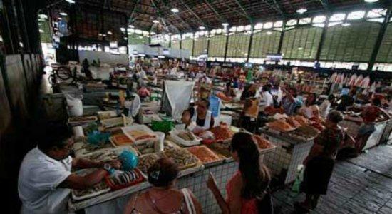 Vendas de peixe despencam no Mercado de São José após manchas de óleo