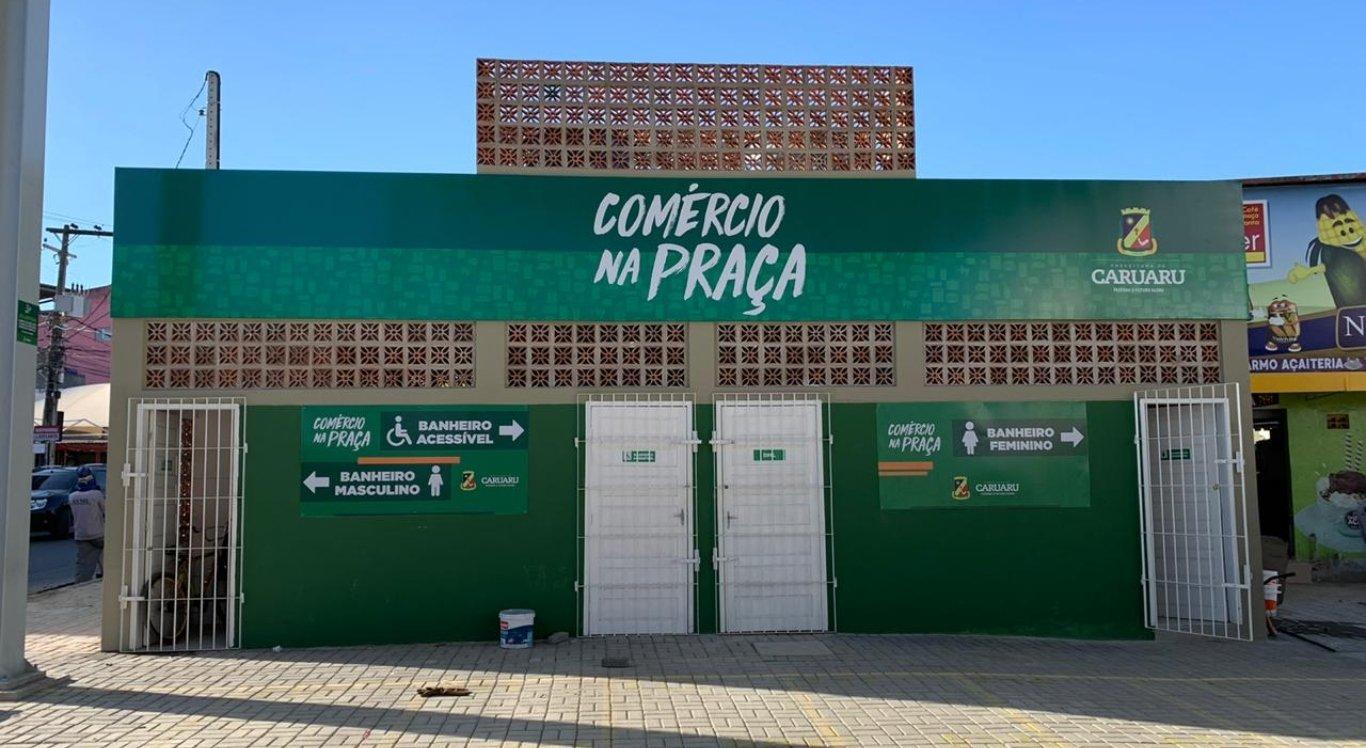 Prefeitura de Caruaru divulga horário dos espaços do Comércio na Praça