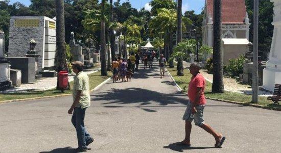 Veja a programação dos cemitérios do Recife neste Dia de Finados