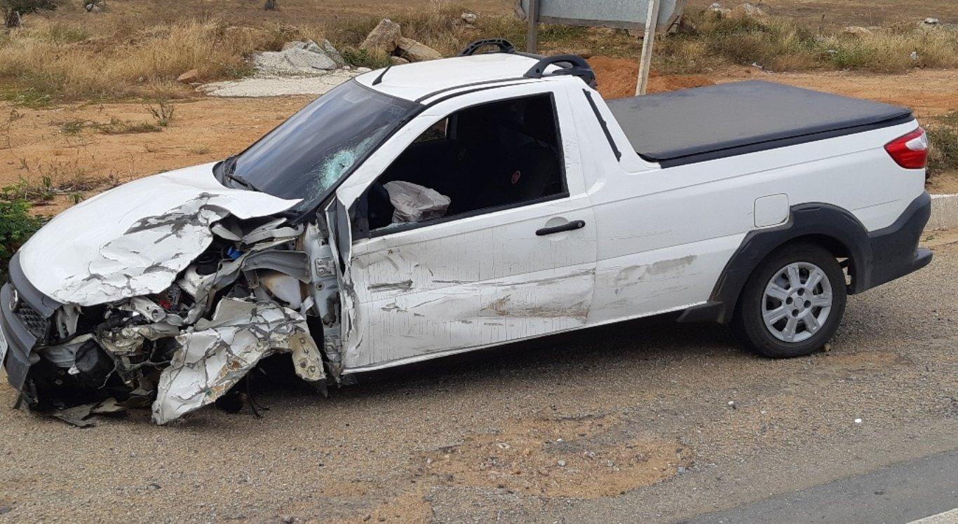 Acidente ocorreu na BR-104, em Taquaritinga do Norte