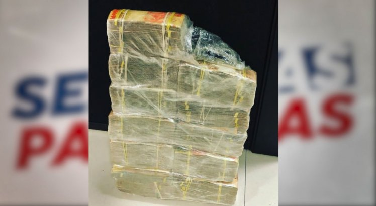 Suspeitos estavam com quase R$ 300 mil em dinheiro