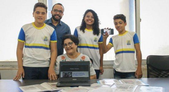 Estudantes do Recife criam projeto para combater fake news das vacinas
