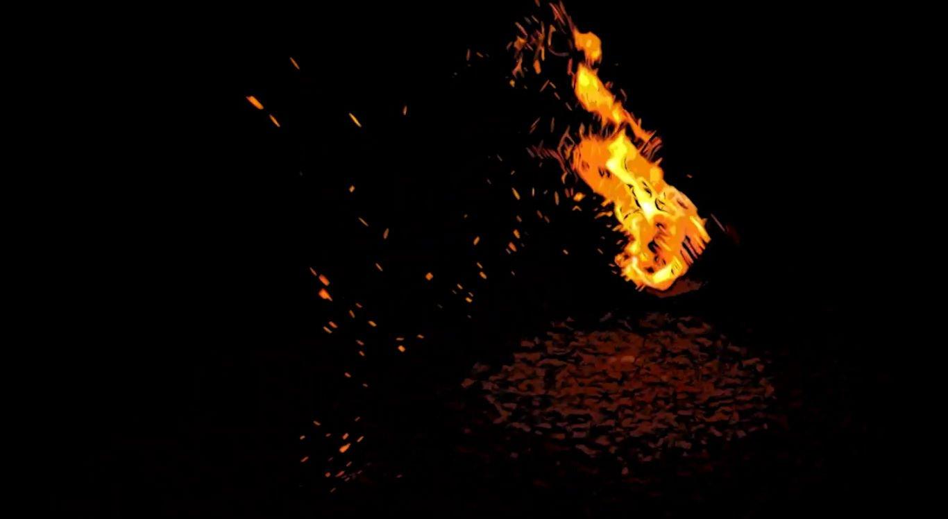 Bolas de fogo aparecem para moradores de Cupira