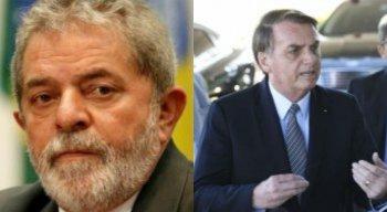 Comentários de pedido de briga entre Lula e Bolsonaro repercutem nas redes sociais