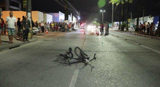 Ciclista morre atropelado durante perseguição policial na Caxangá