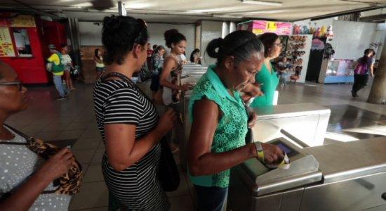 Integração temporal é implantada em estações do metrô do Recife
