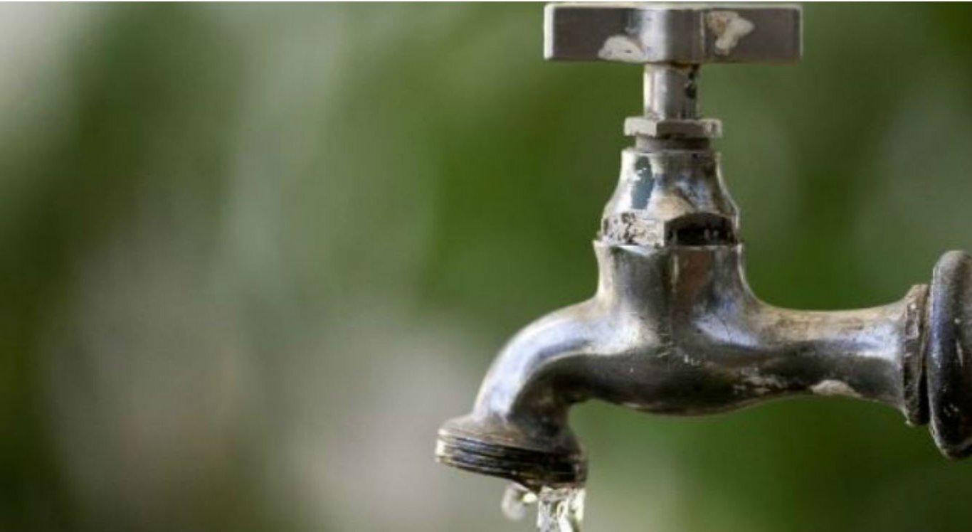 Cerca de 29 bairros vão ficar sem o abastecimento de água
