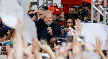 Lula foi solto após 580 dias preso