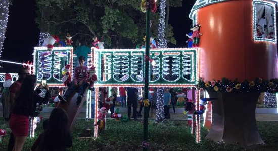 Magia do Natal de Garanhuns começou nessa sexta