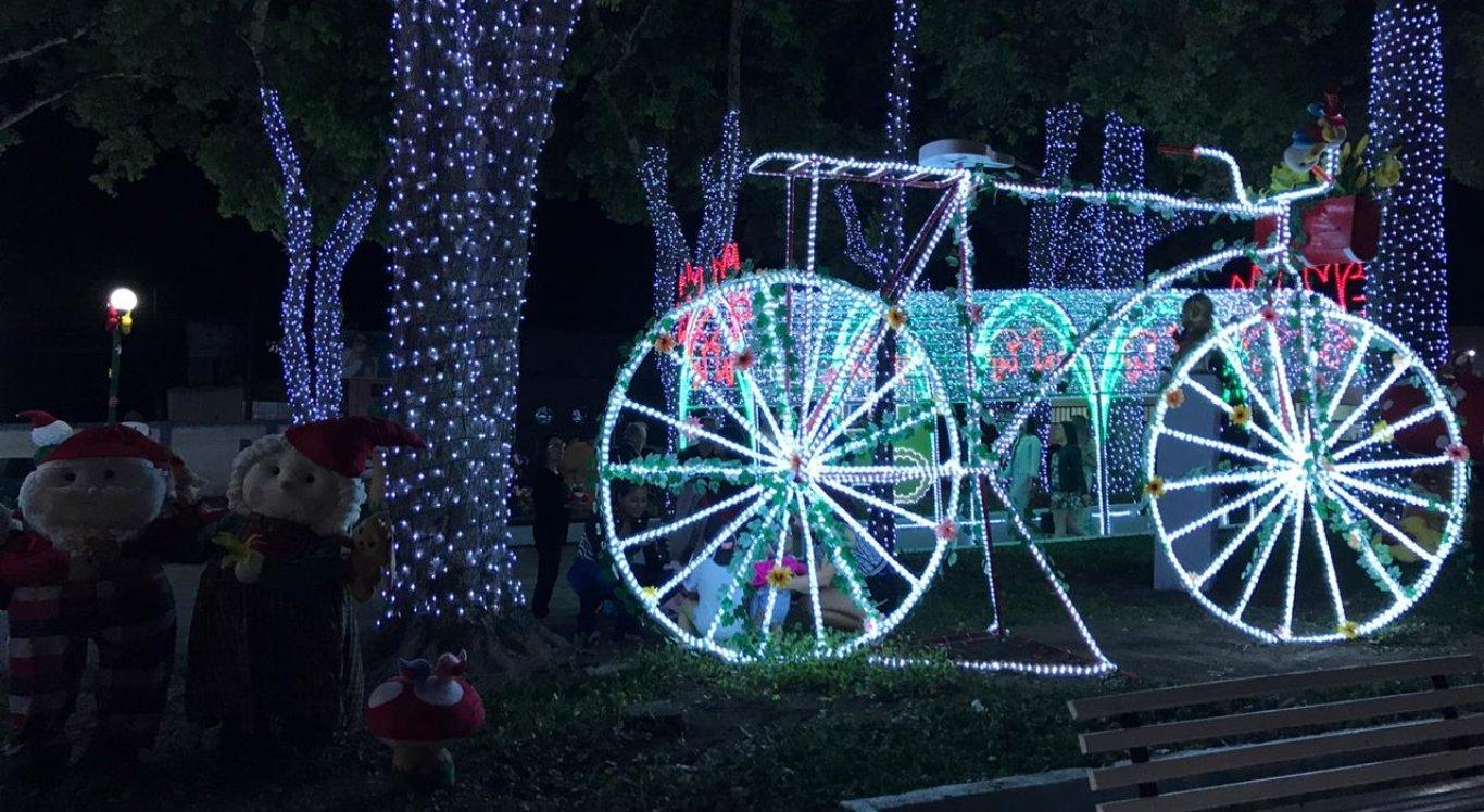 Decoração da Magia de Natal
