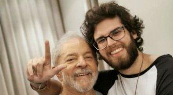 Lula e Thiago Trindade em foto publicada no Instagram