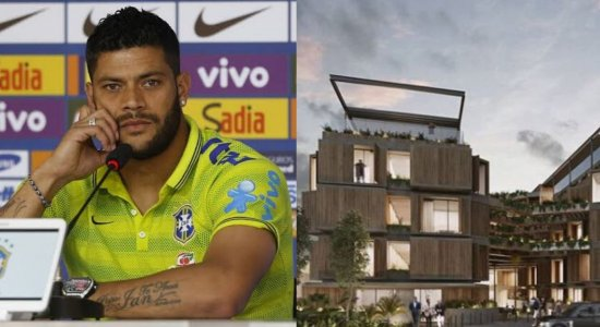 Hotel do jogador Hulk terá 124 suítes; veja imagens