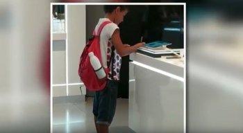 O vídeo viralizou nas redes sociais e fez com que Guilherme conquistasse a simpatia do público