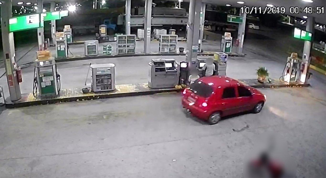 Vídeo mostra assalto