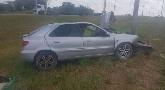 O acidente aconteceu próximo ao Hospital Dom Hélder