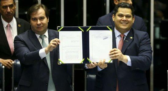 Reeleição de Maia e Alcolumbre tem apoio de quatro ministros do STF